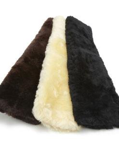 KM Elite Sheepskin Girth Sleeve Short
