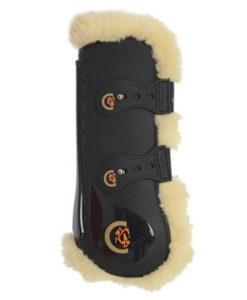 Kentucky Horsewear Sheepskin Elastic Tendon Boots