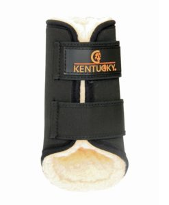Kentucky Horsewear Exercise Boots Black