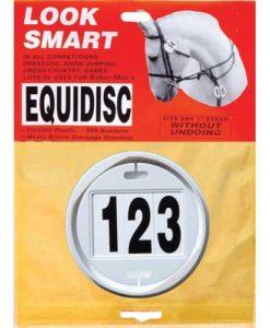Equidisc Bridle Numbers