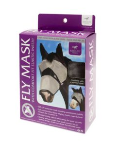 KM Elite Fly Mask Long with Ears 2