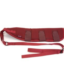 Padded Horse Tail Guard Burgandy