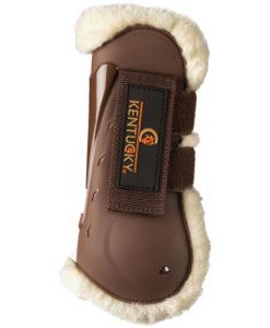 Kentucky Horsewear Sheepskin Air Tendon Boots