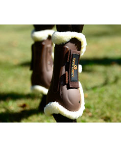 Kentucky Horsewear Sheepskin Air Tendon Boots Brown Horse