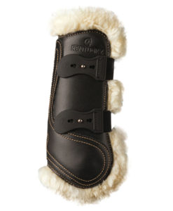 Kentucky Horsewear Leather Sheepskin Tendon Boots