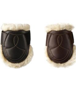 Kentucky Horsewear Leather Sheepskin Fetlock Boots