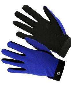KM Elite Everyday Riding Gloves Blue