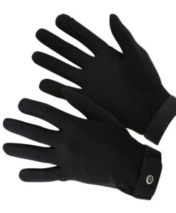 KM Elite Everyday Riding Gloves Black