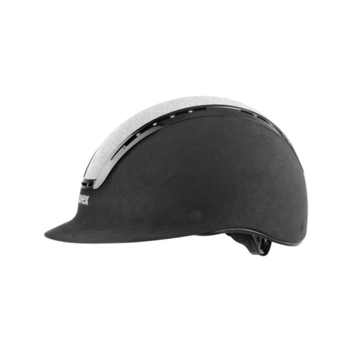 UVEX Suxxeed Glamour Riding Hats Black Silver