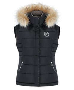 Harcour Sophie Ladies Body Warmer Black