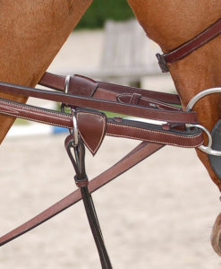 Dy'on Full Leather Draw Reins 1