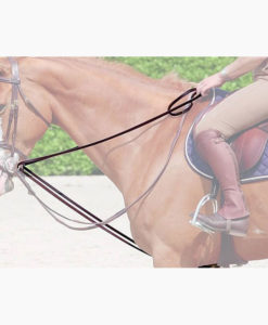 Dy'on Collection Leather Draw Reins