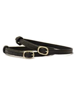 Stubben Leather Spur Straps Black