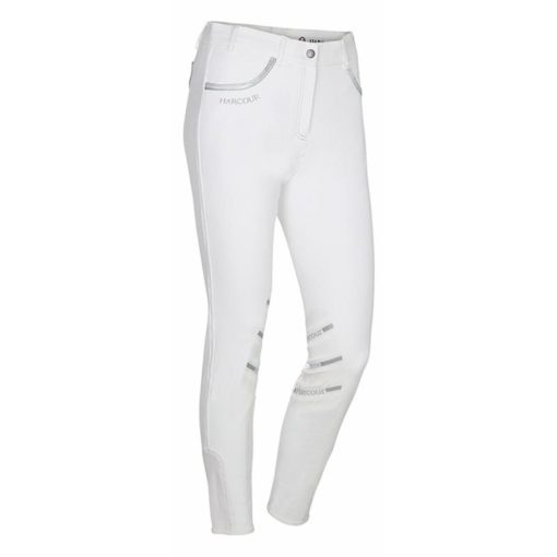 Harcour Jalisca Childrens Breeches White Front