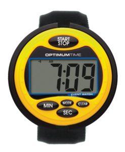 Optimum Time Event Stopwatch Yellow
