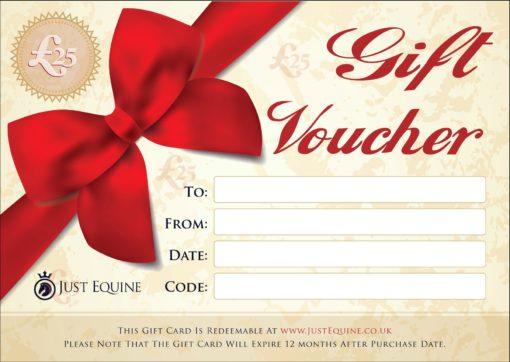 Gift Vouchers £25 Just Equine