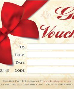 Gift Vouchers £50 Just Equine