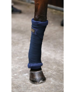 Kentucky Horsewear Repellent Bandages Navy 1