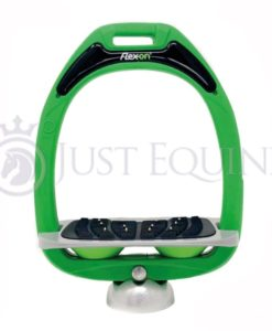 Flex-On Stirrups Green Grey Green