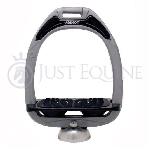 Flex-On Stirrups Light Grey Black Black