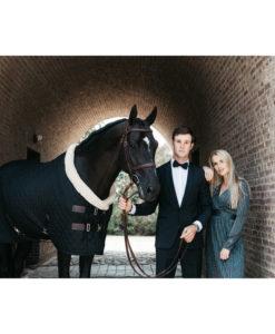 Kentucky Horsewear Black Show Rug