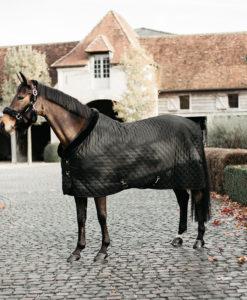 Kentucky Horsewear Black Black Show Rug