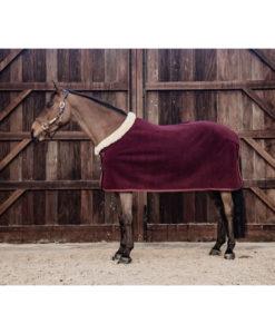 Heavyweight Fleece Show Rug - Bordeaux